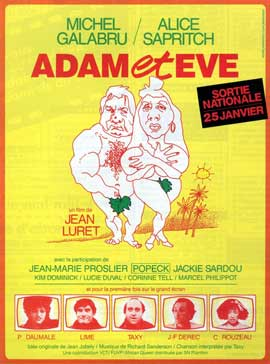 Adam et Eve - 11 x 17 Movie Poster - French Style A
