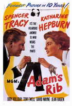 Adam's Rib - 27 x 40 Movie Poster - Style A