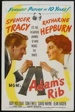 Adam's Rib - 11 x 17 Movie Poster - Style B