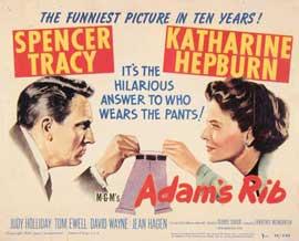 Adam's Rib - 11 x 14 Movie Poster - Style A