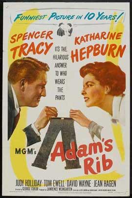 Adam's Rib - 27 x 40 Movie Poster - Style B