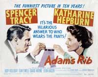 Adam's Rib - 22 x 28 Movie Poster - Half Sheet Style A