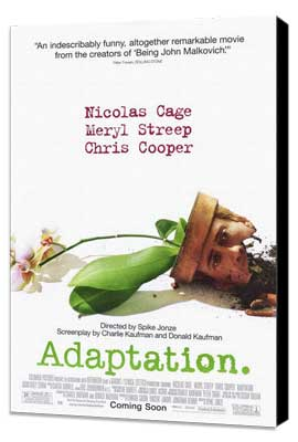 Adaptation - 11 x 17 Movie Poster - Style A - Museum Wrapped Canvas