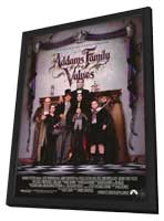 Addams Family Values - 11 x 17 Movie Poster - Style B - in Deluxe Wood Frame