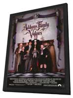 Addams Family Values - 27 x 40 Movie Poster - Style B - in Deluxe Wood Frame