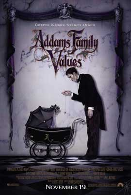 Addams Family Values - 11 x 17 Movie Poster - Style A