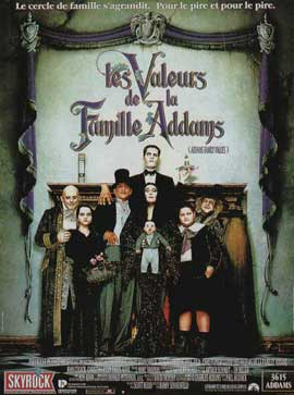 Addams Family Values - 11 x 17 Movie Poster - French Style A