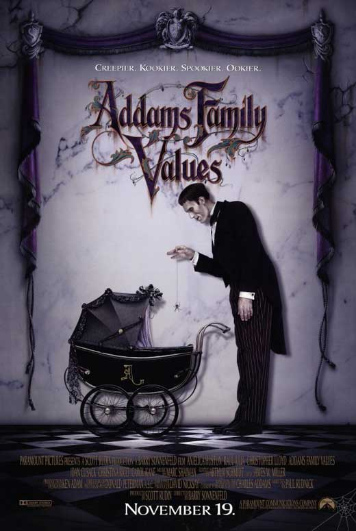 addams family values movie posters from movie poster shop