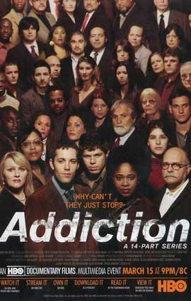 Addiction - 11 x 17 Movie Poster - Style A
