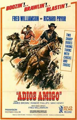Adios Amigo - 11 x 17 Movie Poster - Style A