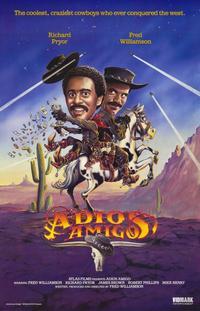 Adios Amigo - 11 x 17 Movie Poster - Style B