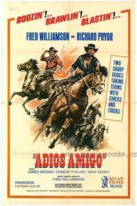 Adios Amigo - 27 x 40 Movie Poster - Style B