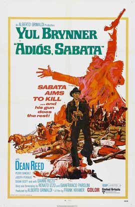 Adios Sabata - 11 x 17 Movie Poster - Style A
