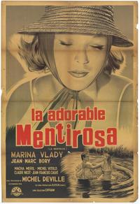 Adorable Liar - 27 x 40 Movie Poster - Spanish Style A