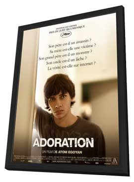 Adoration - 11 x 17 Movie Poster - French Style A - in Deluxe Wood Frame