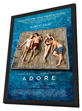 Adore - 27 x 40 Movie Poster - Style A - in Deluxe Wood Frame