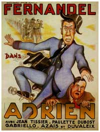 Adrien - 11 x 17 Movie Poster - French Style A