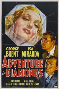 Adventure in Diamonds - 11 x 17 Movie Poster - Style A