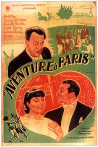 Adventure in Paris - 11 x 17 Movie Poster - French Style A