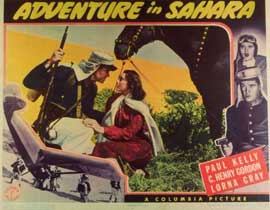AdventAdventure in Saharaure in Sahara - 11 x 14 Movie Poster - Style A