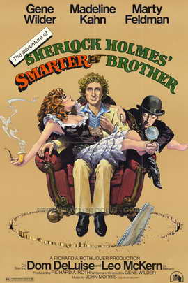 The Adventures of Sherlock Holmes' Smarter Brother - 27 x 40 Movie Poster - Style A