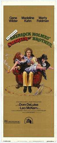 The Adventures of Sherlock Holmes' Smarter Brother - 14 x 36 Movie Poster - Insert Style A