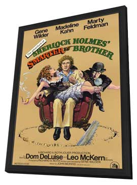 The Adventures of Sherlock Holmes' Smarter Brother - 11 x 17 Movie Poster - Style A - in Deluxe Wood Frame