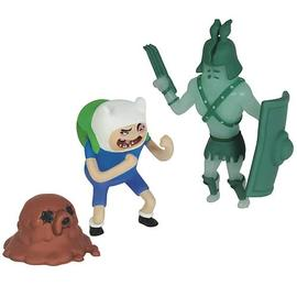 Adventure Time (TV) - Gladiator Pack Ghost & Finn Action Figures