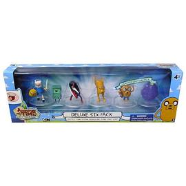 Adventure Time (TV) - 2-Inch Deluxe Action Figure 6-Pack