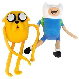Adventure Time (TV) - Jake and Finn Plush Set