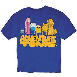 Adventure Time (TV) - Cloned Friends Blue T-Shirt