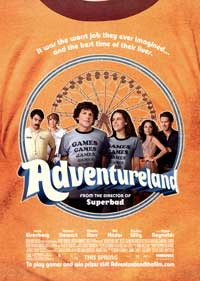 Adventureland - 43 x 62 Movie Poster - Bus Shelter Style A