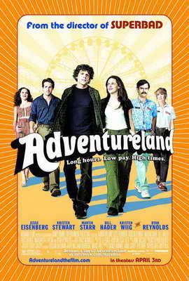Adventureland - 11 x 17 Movie Poster - Style B