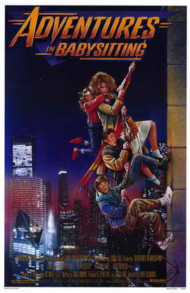 Adventures in Babysitting - 11 x 17 Movie Poster - Style A