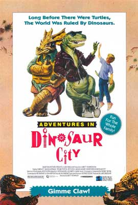 Adventures in Dinosaur City - 27 x 40 Movie Poster - Style A