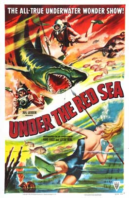 Adventures in the Red Sea - 27 x 40 Movie Poster - Style A