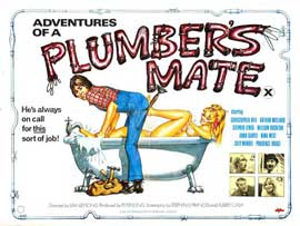 Adventures of a Plumber's Mate - 22 x 28 Movie Poster - Half Sheet Style A