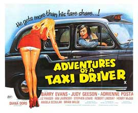 Adventures of a Taxi Driver - 22 x 28 Movie Poster - Half Sheet Style A