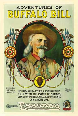 Adventures Of Buffalo Bill Wild West - 27 x 40 Movie Poster - Style A