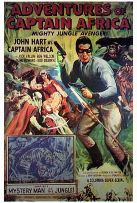 Adventures of Captain Africa - 27 x 40 Movie Poster - Style A