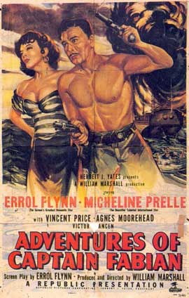 Adventures of Captain Fabian - 11 x 17 Movie Poster - Style A