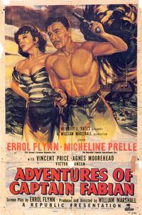 Adventures of Captain Fabian - 27 x 40 Movie Poster - Style A