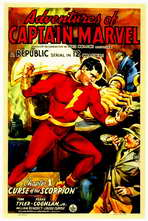 Adventures of Captain Marvel - 11 x 17 Movie Poster - Style B