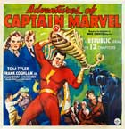 Adventures of Captain Marvel - 43 x 62 Movie Poster - Italian Style A