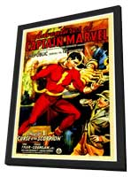 Adventures of Captain Marvel - 11 x 17 Movie Poster - Style B - in Deluxe Wood Frame