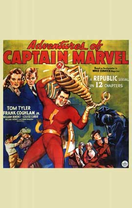 Adventures of Captain Marvel - 11 x 17 Movie Poster - Style C