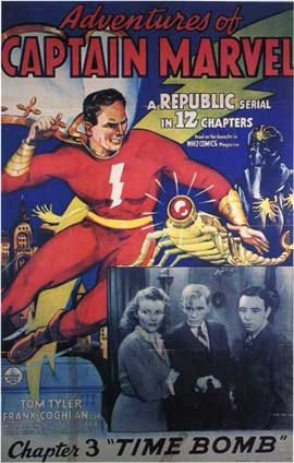 Adventures of Captain Marvel - 11 x 17 Movie Poster - Style D