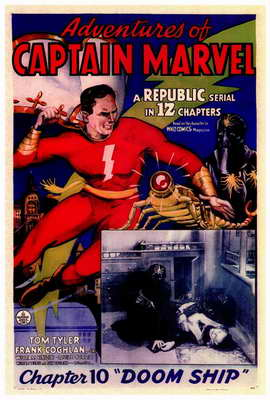 Adventures of Captain Marvel - 27 x 40 Movie Poster - Style A