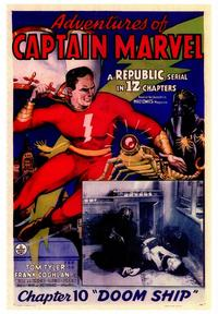 Adventures of Captain Marvel - 43 x 62 Movie Poster - Bus Shelter Style A