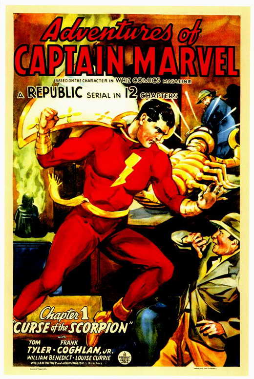 Adventures of Captain Marvel Movie Posters From Movie ...
